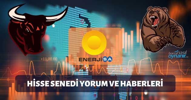 Enerjisa Enerji AŞ. (ENJSA): Hisse Senedi Yorum ve Haberleri