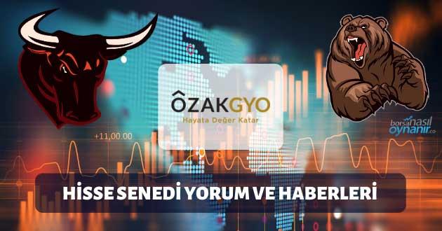 Özak GYO (OZKGY): Hisse Senedi Yorum ve Haberleri