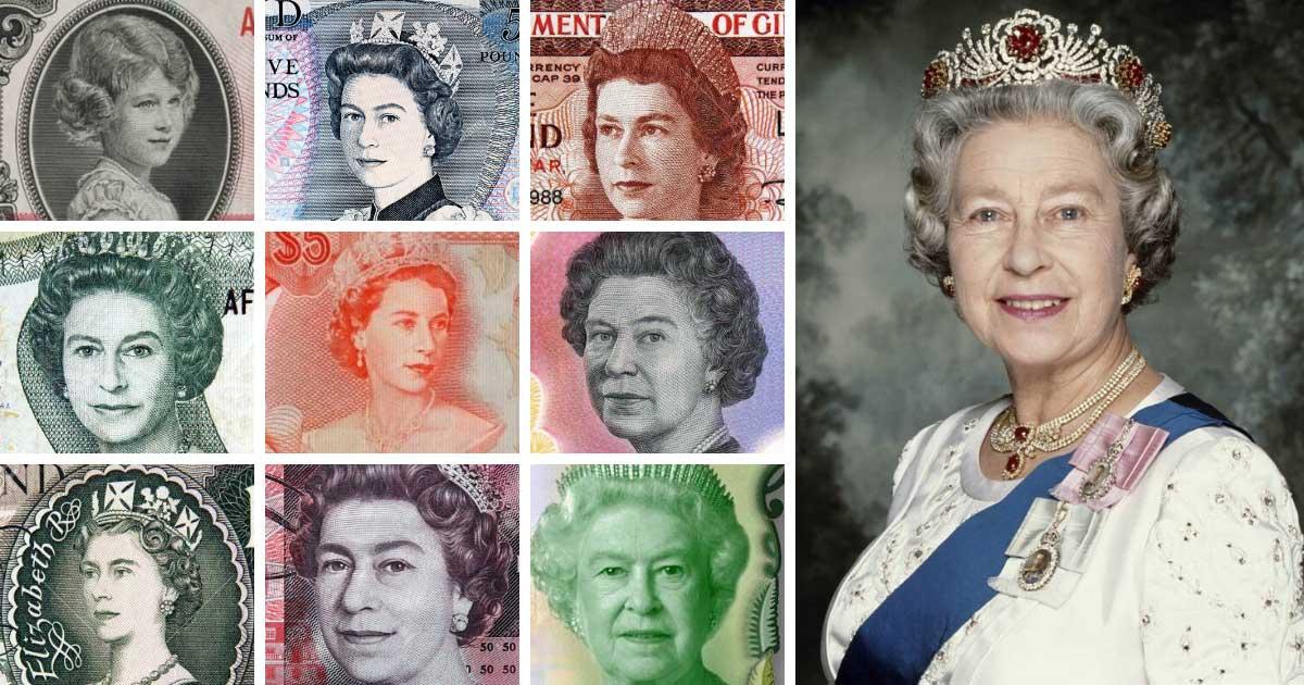 Kraliçe Elizabeth'in Portresi Bulunan 20 Para Birimi