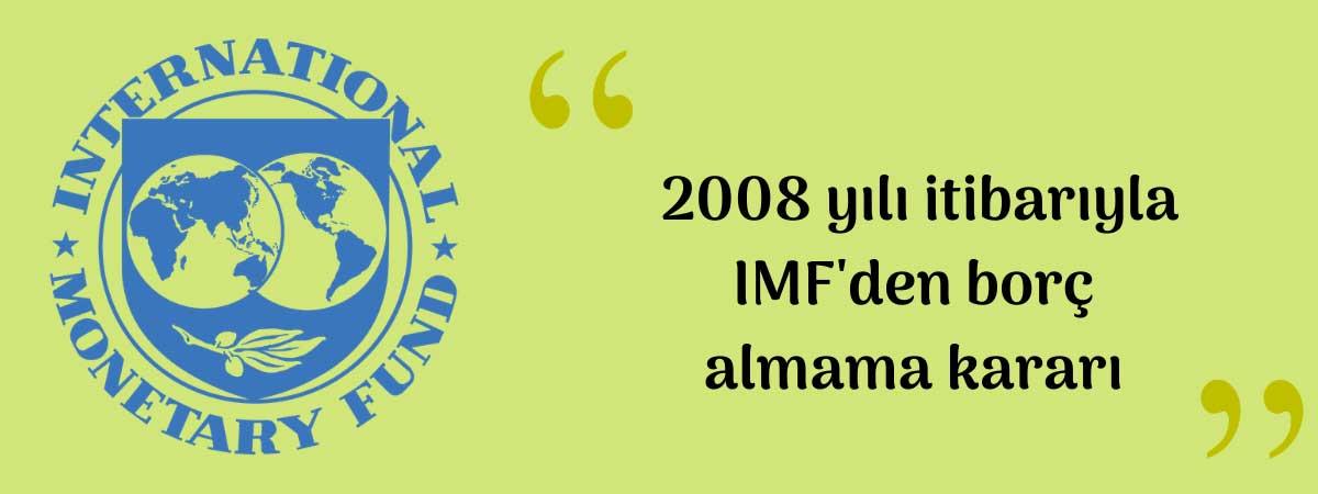 IMF Türkiye İlişki