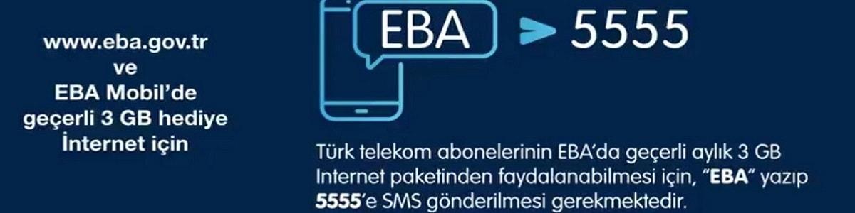 Türk Telekom Uzaktan Eğitim için 3 GB İnternet Hediye Ediyor