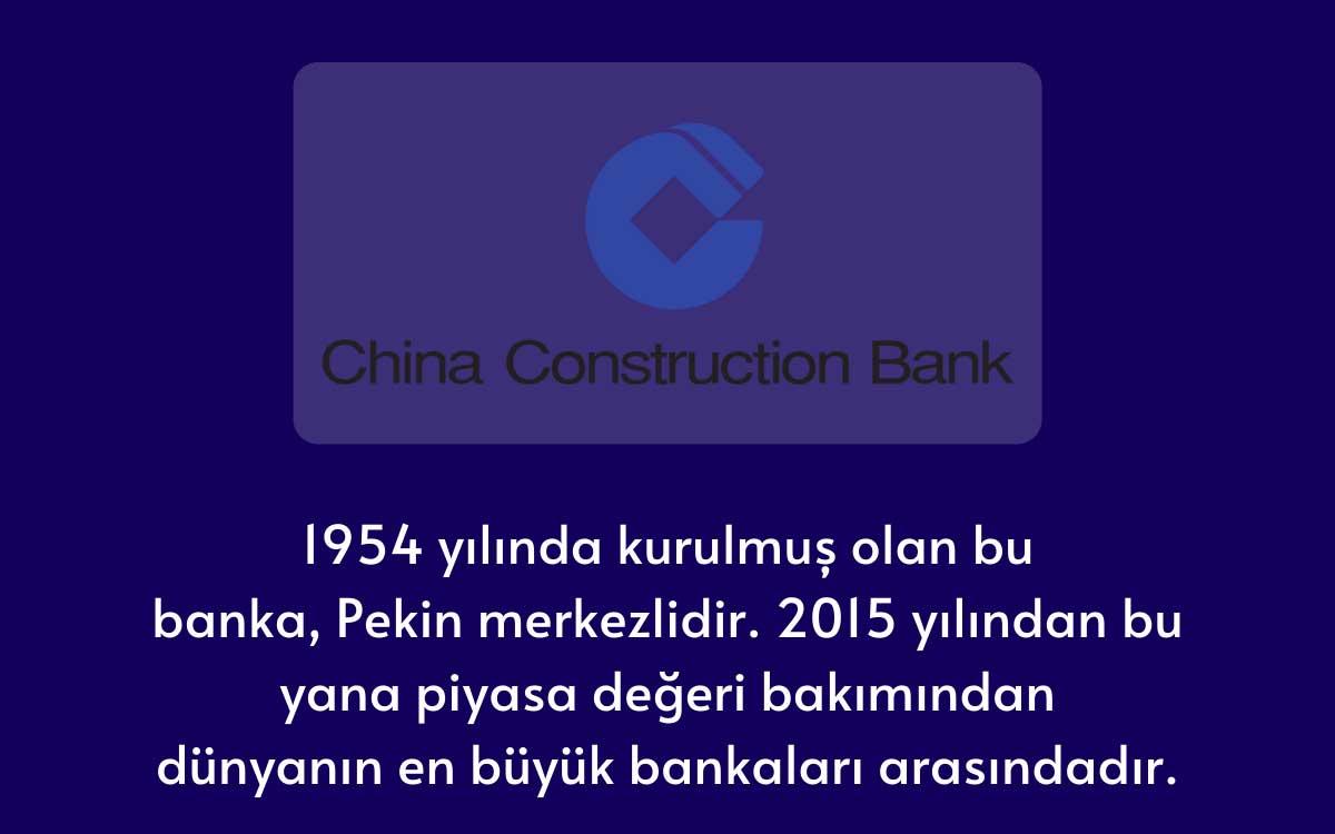 Çin İnşaat Bankası (CCB)