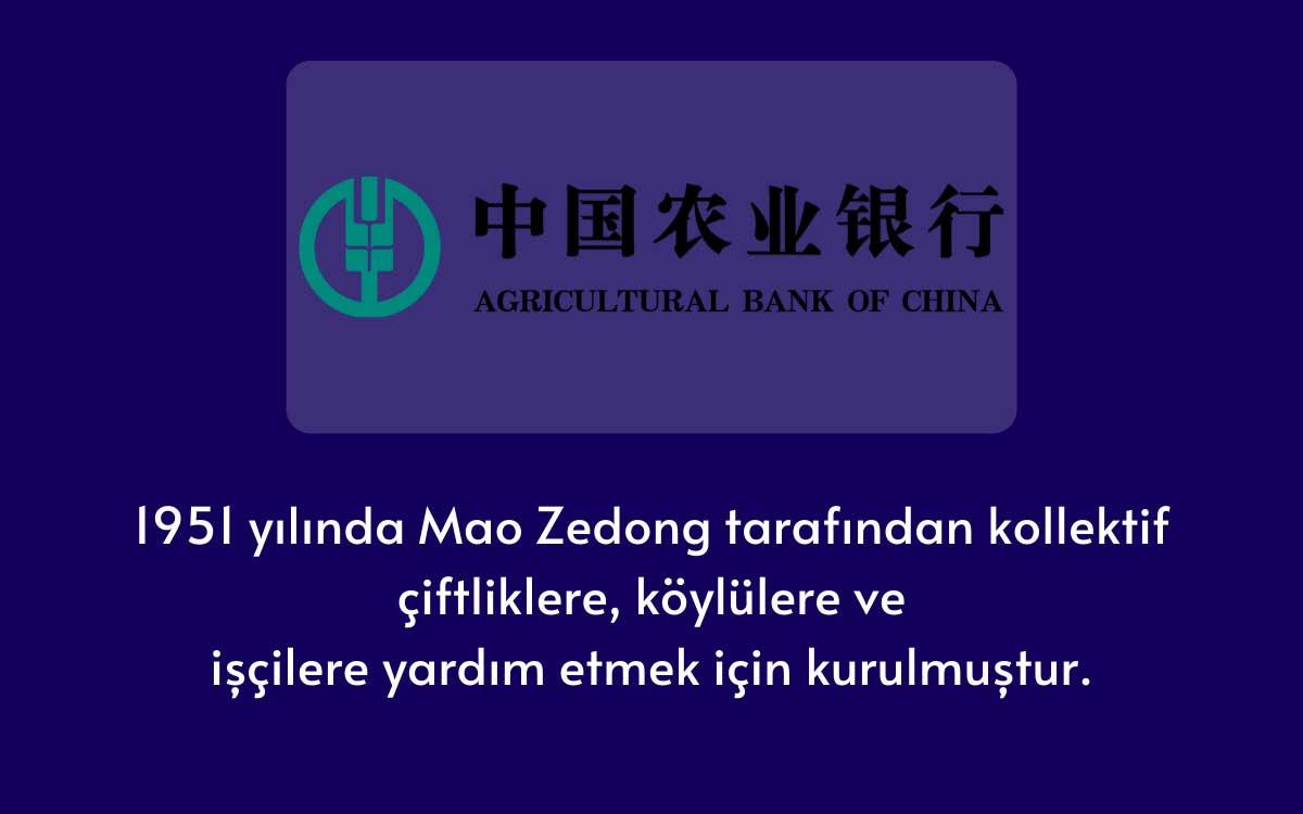Çin Tarım Bankası (ABoC)