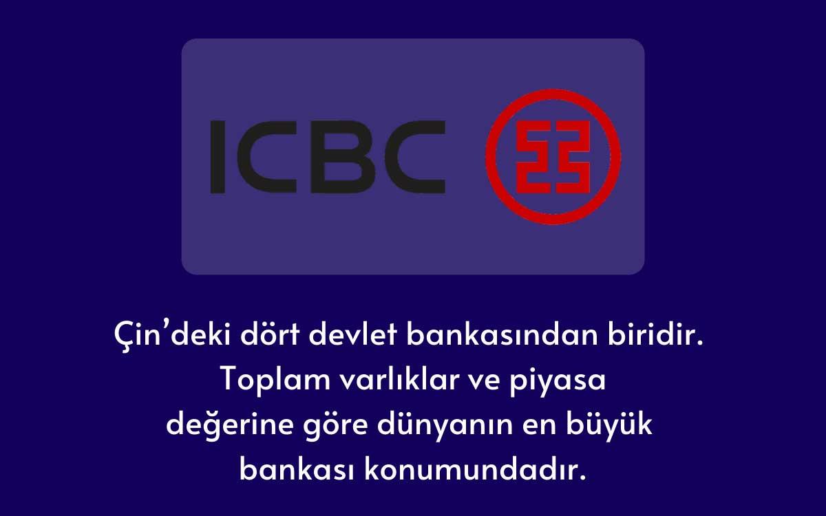 Çin Sanayi ve Ticaret Bankası (ICBC)