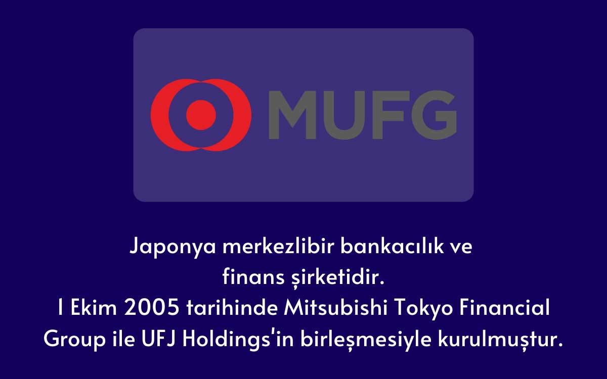 Mitsubishi UFJ Finans Grubu (MUFG)