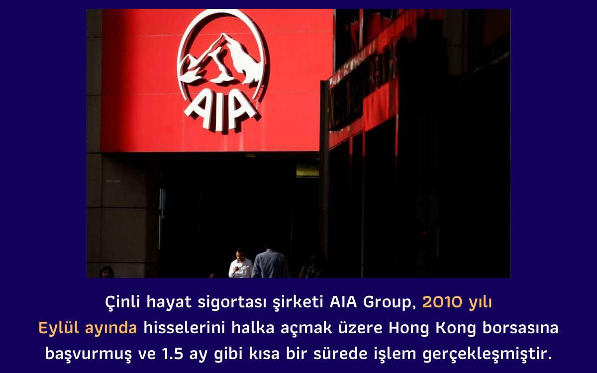 AIA Group Halka Arz