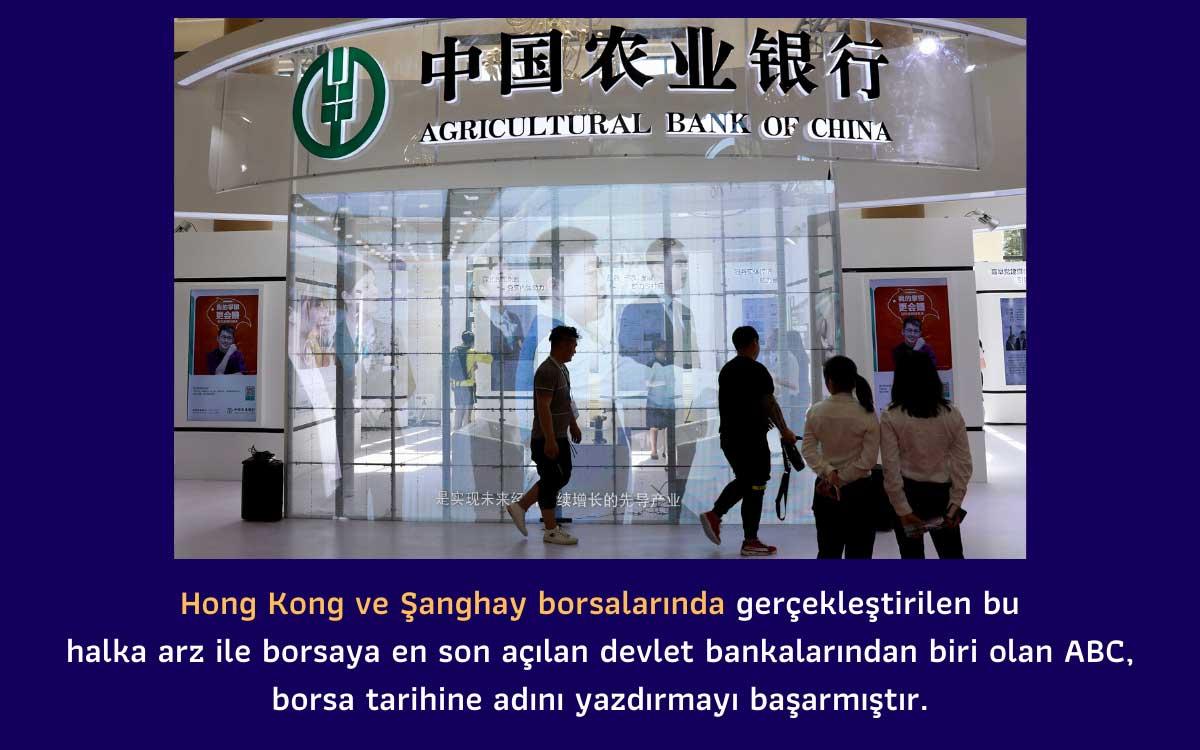 Çin Tarım Bankası Halka Arz