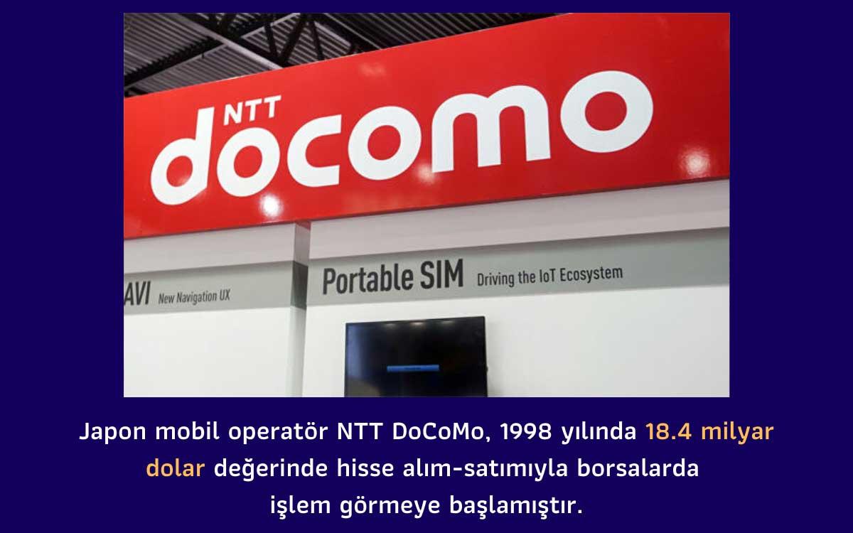 NTT DoCoMo Halka Arz