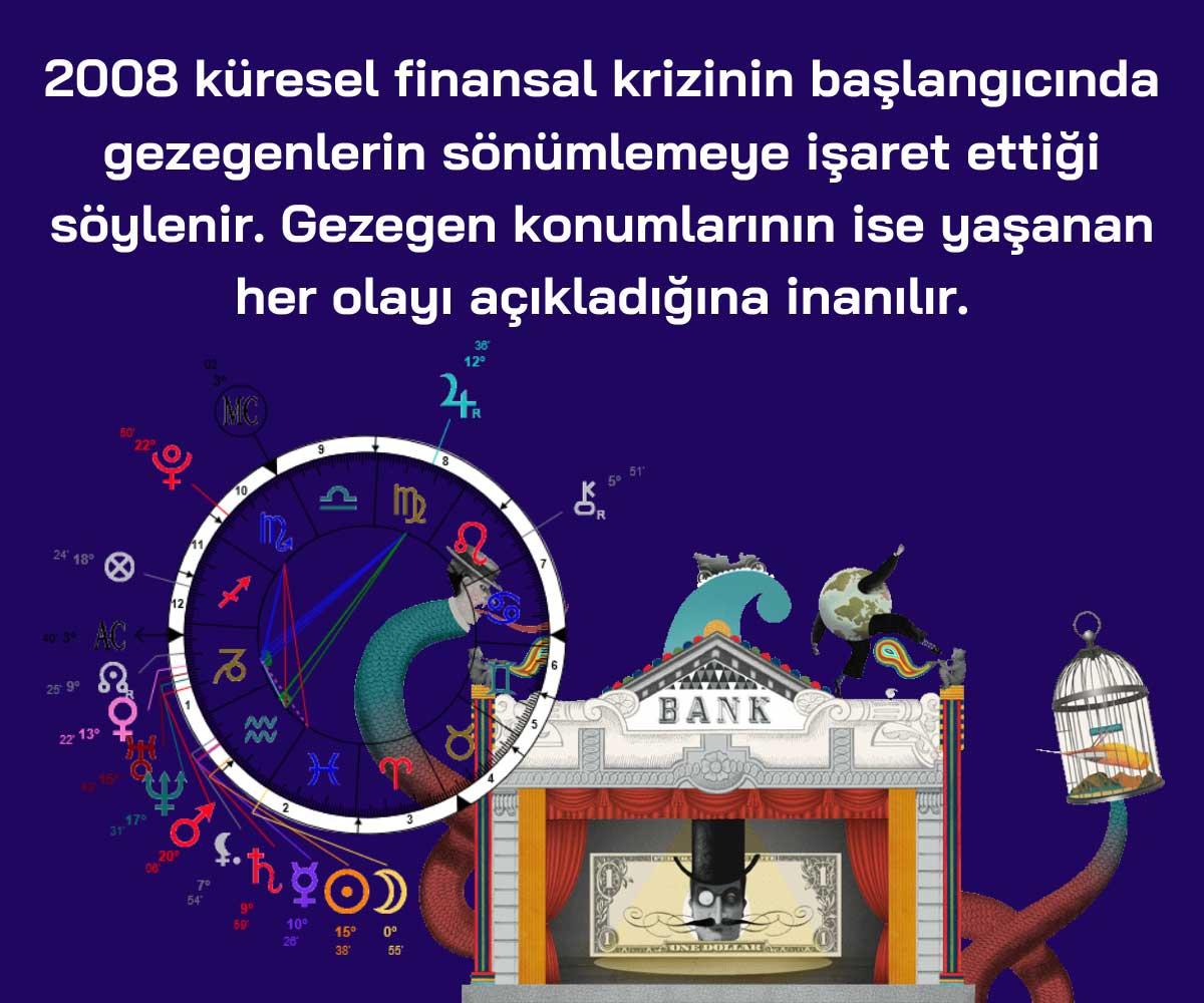 2008 Krizinin Finansal Astrolojiyle Açıklanması