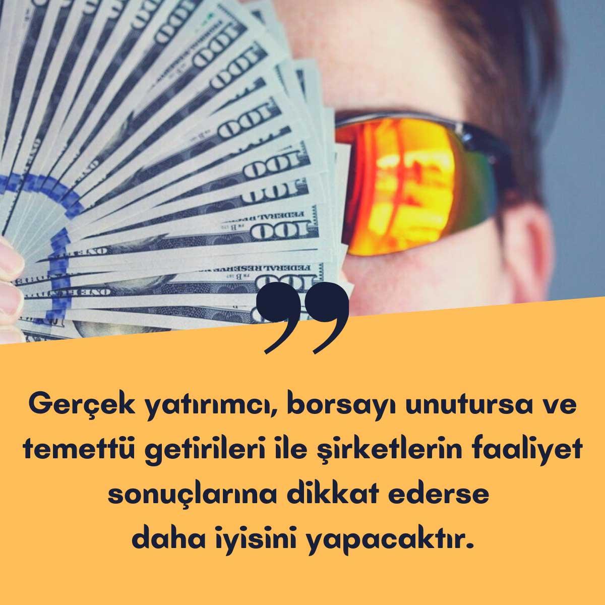 Gerçek Yatırımcı Olun