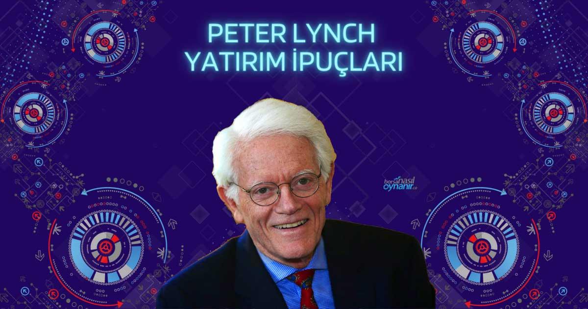Peter Lynch'in En Değerli 20 Yatırım İpucu