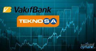 Sendikasyon Kredisi Alan Vakıfbank ve Sermaye Artıran Teknosa Hisseleri Pozitif