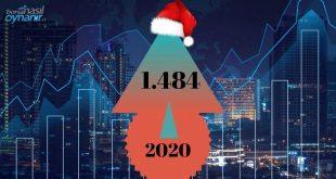 2020'nin Son İşlem Gününde 1.484 Rekorunu Kıran Borsa, Ekside Kapanmaya Hazırlanıyor