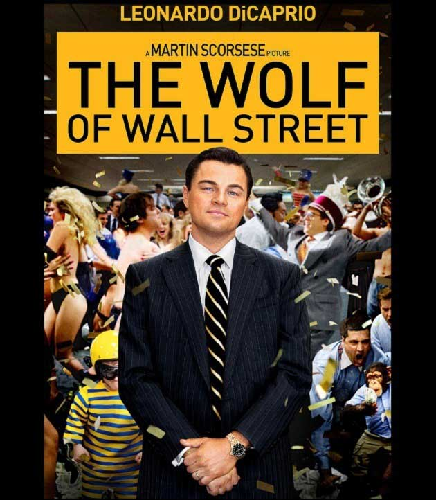 The Wolf of Wall Street – Para Avcısı Film Afişi