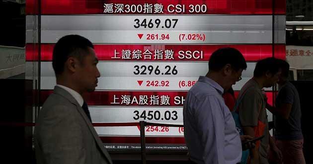 Çin Borsasında İşlemler Bu Hafta İkinci Kez Durduruldu!