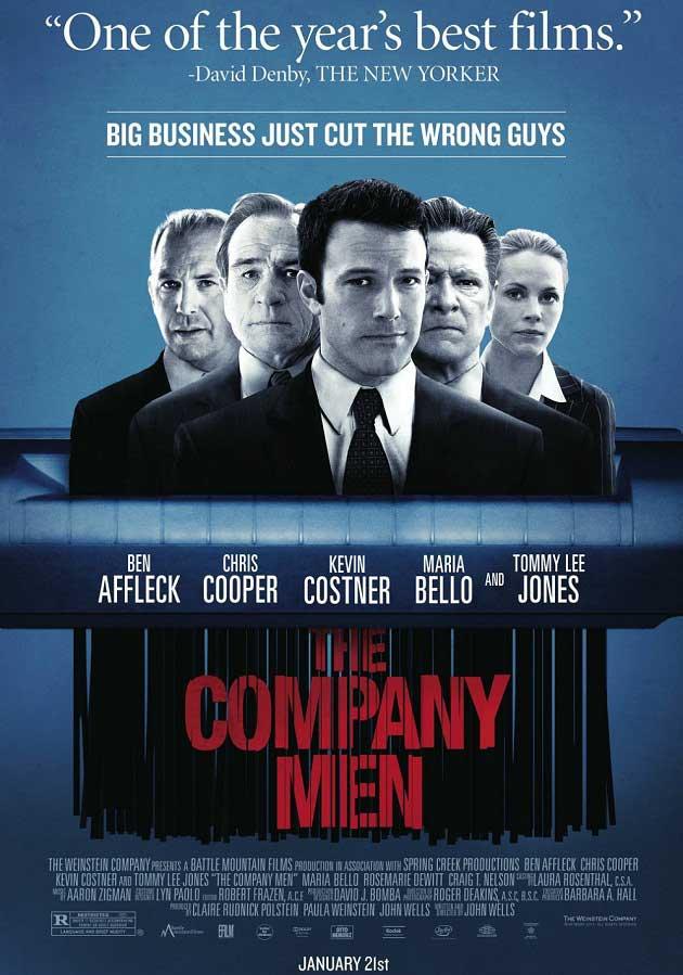 The Company Men – Şirket Adamları Film Afişi