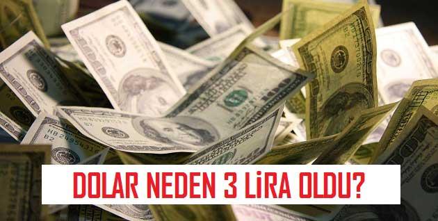Dolar Neden 3 Lira Oldu?