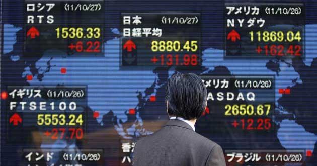 Küresel Borsalar Asya Etkisiyle Yükseliyor
