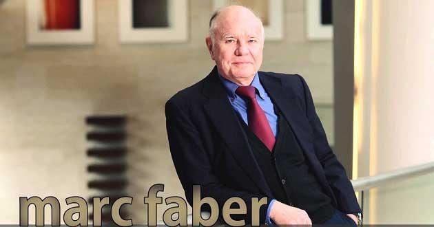 Marc Faber Borsalar için Kötümser