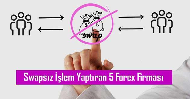 Swapsız İşlem Yaptıran 5 Forex Firması