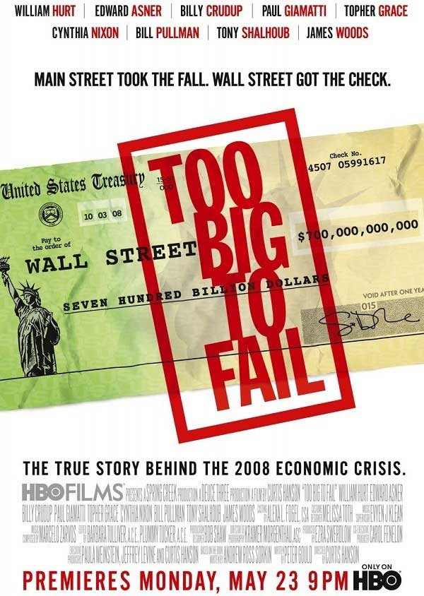 Too Big To Fail Filmi