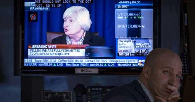 Yellen Borsaları Sallamaya Devam Ediyor
